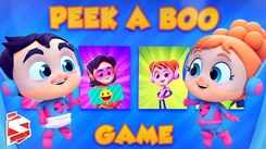 English Nursery Rhymes: Kids Video Song in English 'Peek A Boo Game - Hide and Seek'