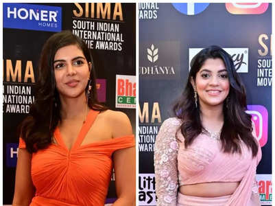 Celebs grace the red carpet of SIIMA in style