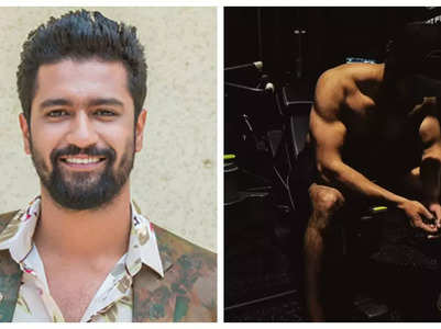 Vicky Kaushal shows off ripped physique