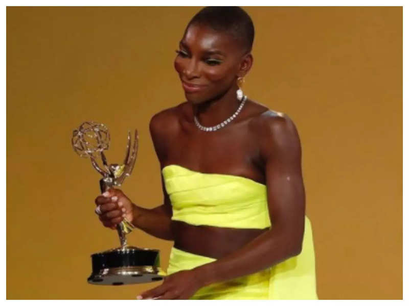 Michaela Coel wins writing Emmy for 'I May Destroy You'