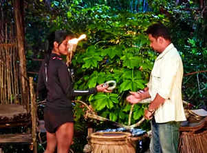 Survivor:Gayathri is eliminated from tribe