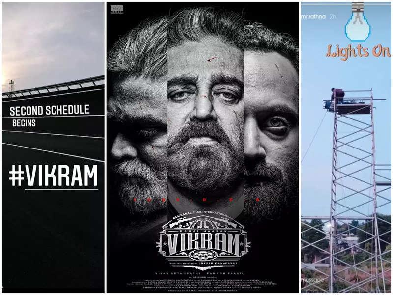Kamal Haasan's 'Vikram' second schedule begins