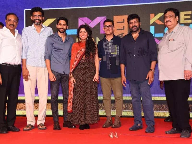 Love Story pre-release highlights: Aamir Khan, Chiranjeevi, Naga Chaitanya, Sai Pallavi deliver moving speeches