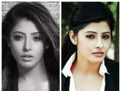 Sanchita Banerjee stunning looks in black