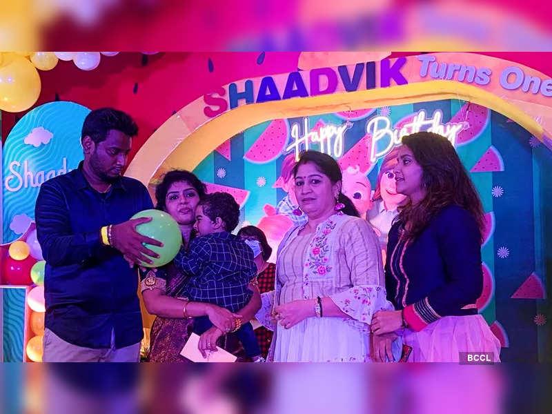 Here's how Pandian Stores fame Hema Rajkumar Sathish celebrated her son Shaadvik Sathish's birthday (Photo - Instagram)