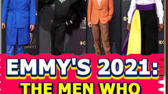 The men who stole the show at Emmy Awards 2021