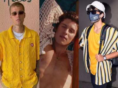Trend alert: Crochet shirts for men are a hit