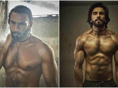Pics: Ranveer Singh flaunts his chiseled abs