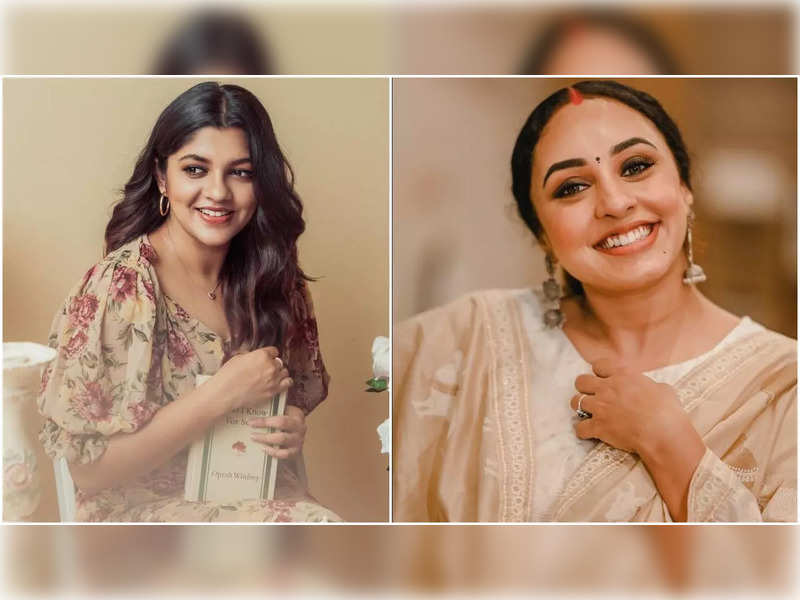 """Actress Aparna Balamurali is all praises for Pearle Maaney; says, """"You are setting goals for a lot of women"""""""