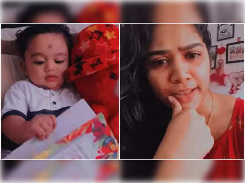 This video of actress Darshana and her son is too cute to miss; watch