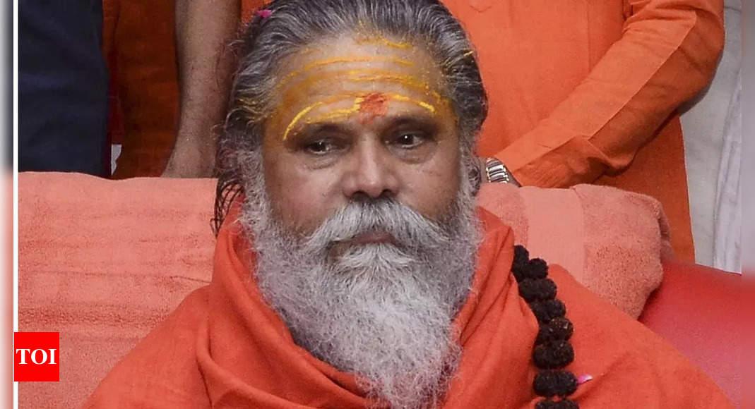 Allahabad: Narendra Giri, chief mahant of Akhara Parishad, found dead in Math - Times of India