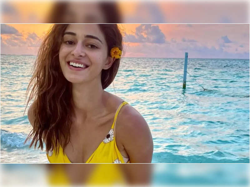 Ananya Panday's enchanting smile by the bay will surely melt your heart today