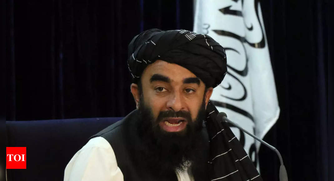 No country should ask us to form 'inclusive government', say Taliban – Times of India