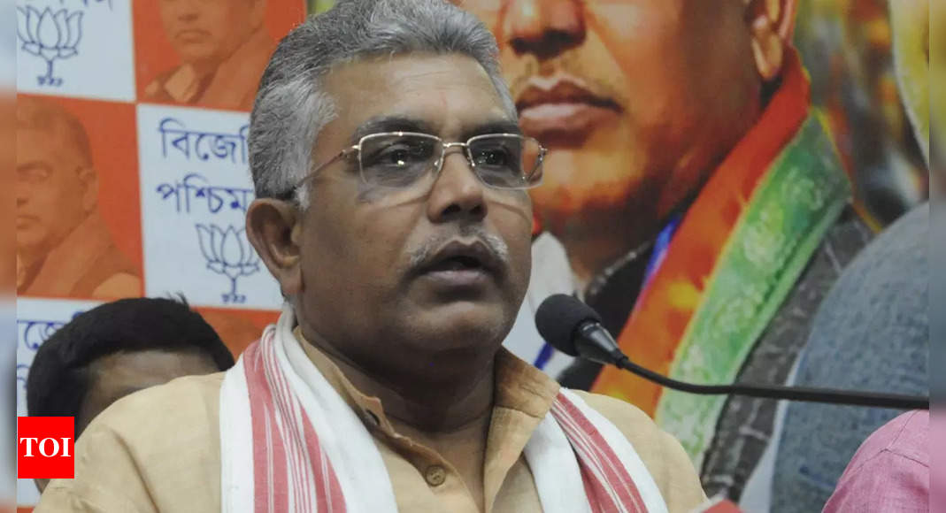 BJP replaces West Bengal chief Dilip Ghosh amid defections