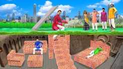 Popular Children Hindi Nursery Story 'Underground Brick House' for Kids - Check out Fun Kids Nursery Rhymes And Baby Songs In Hindi
