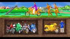 Popular Children Hindi Nursery Story 'Underground Motorbike Thief' for Kids - Check out Fun Kids Nursery Rhymes And Baby Songs In Hindi