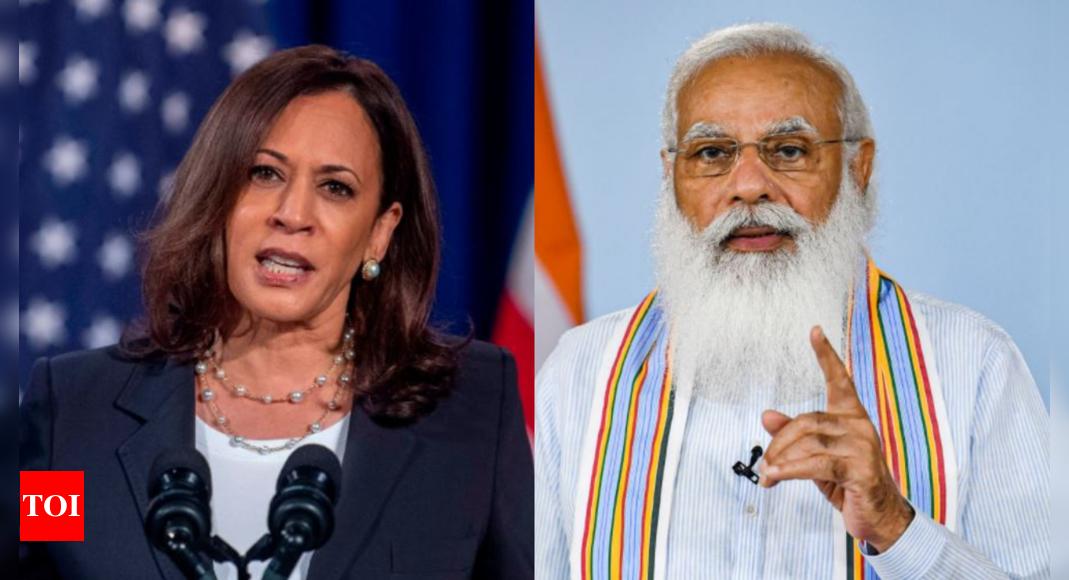 US vice-prez Kamala Harris to meet PM Narendra Modi on September 23
