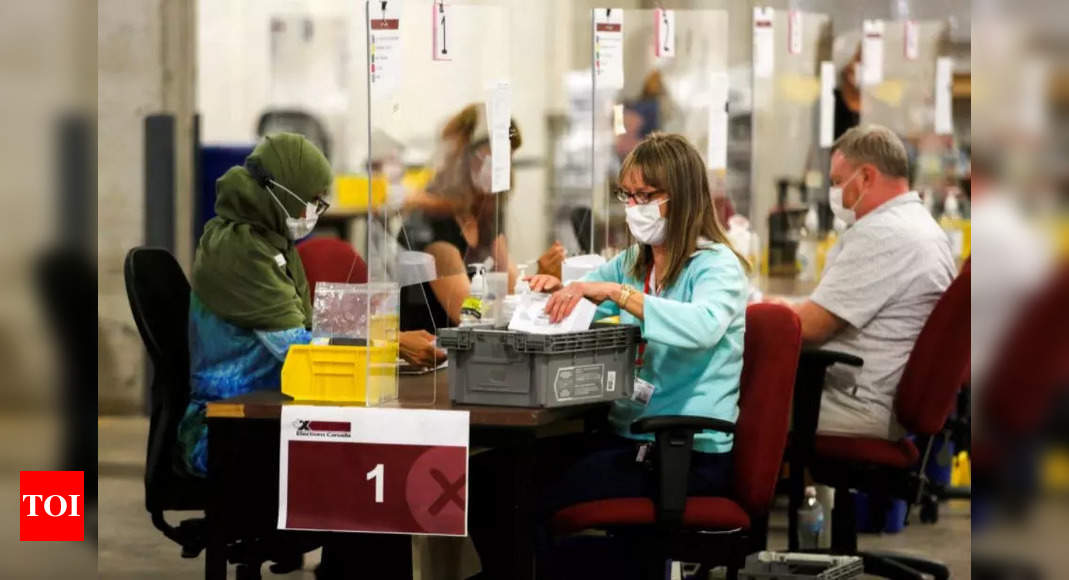 Canadians vote in pandemic election