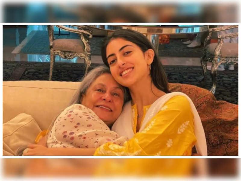 THIS adorable picture of Navya Naveli Nanda hugging her naani Jaya Bachchan will warm your heart