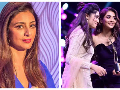Tabu thanks Pooja for receiving her award