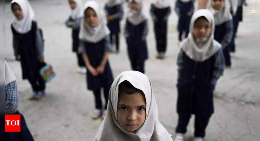 Taliban say working on reopening girls' high schools