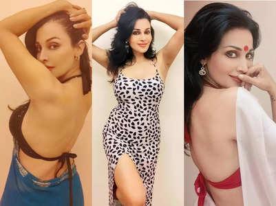 Stree actress Flora Saini's hot fashion