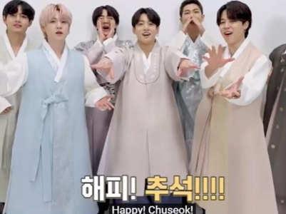 BTS & other celebs send Chuseok greetings