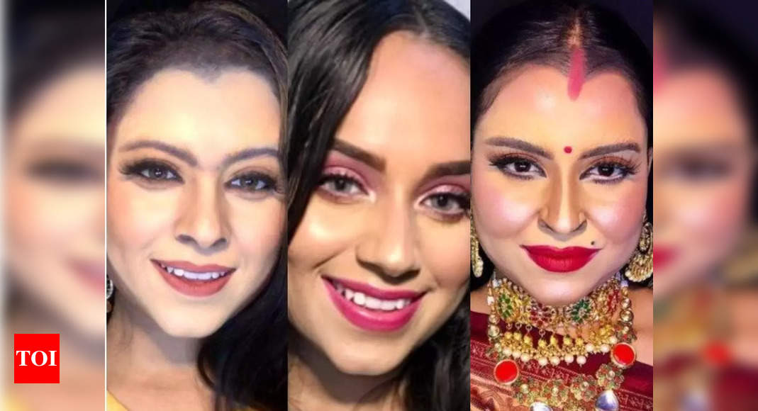 Celeb transformations of this makeup artist!
