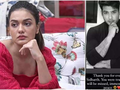 Divya on Sidharth's demise: It was shocking