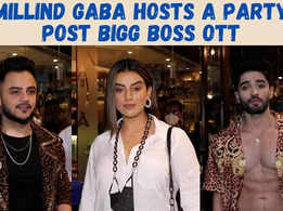 Bigg Boss OTT's Millind Gaba hosts a grand bash for friends, Akshara Singh and Zeeshan attend