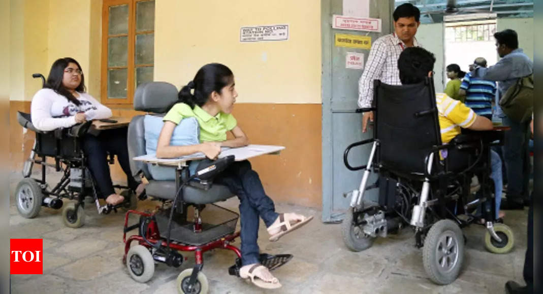 Marked rise in registered voters with disabilities; EC to make upcoming state polls more 'accessible' – Times of India