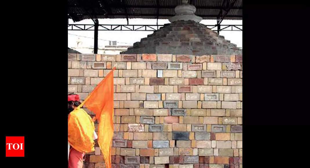 ramjanmabhoomi:  Black granite from Karnataka to raise Ram temple plinth   Lucknow News – Times of India