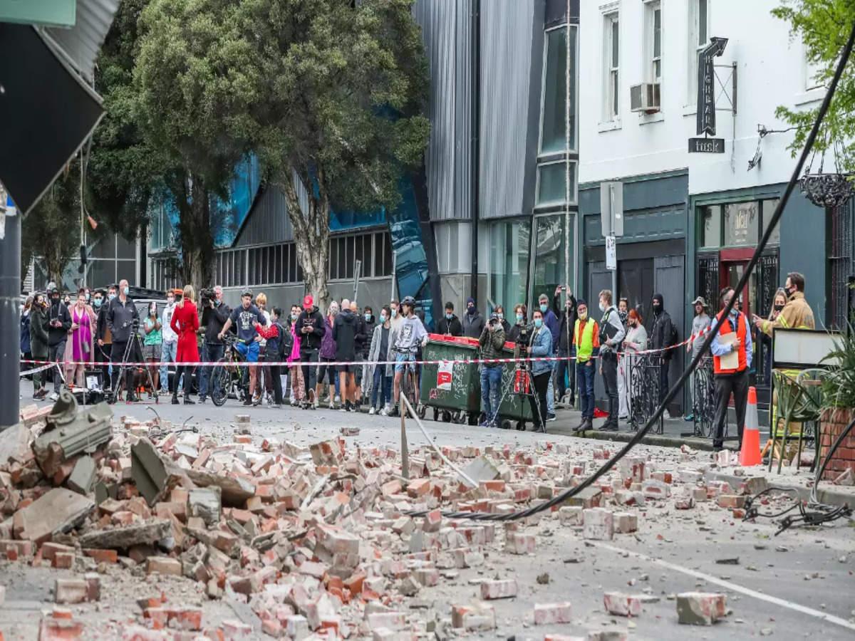 Magnituted  6.0 Earthquake Strikes Near Melbourne, Tremos Rattle SouthEast Australia