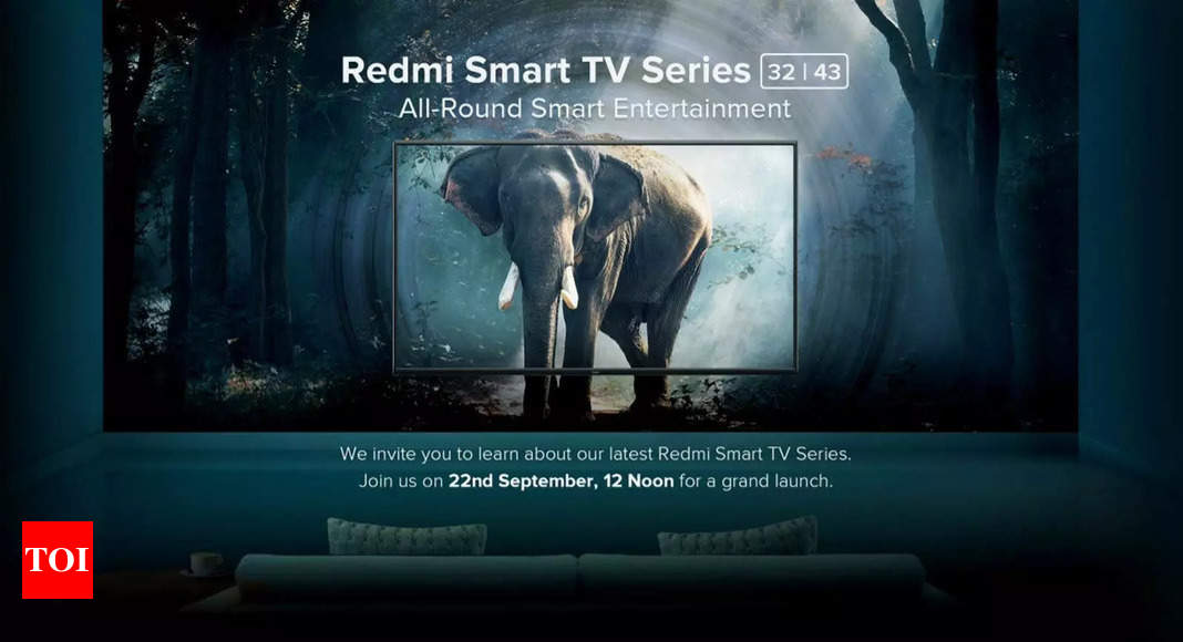 Redmi Smart TVs with 32-inch and 43-inch screen sizes to launch today at 12 pm: How to watch live stream