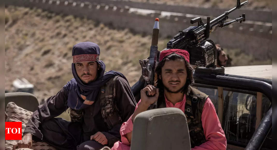 taliban:  Taliban News: Will Taliban succeed in governing Afghanistan? | World News - Times of India