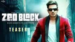 Watch Latest Haryanvi Official Music Video Song Teaser 'Zed Black' Sung By Diler Kharkiya