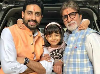 BigB received THESE gifts from Abhishek