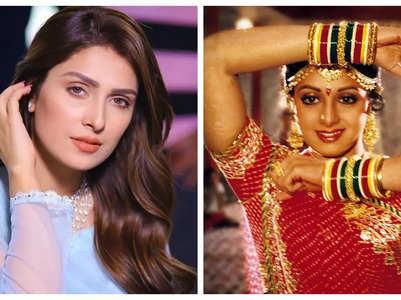 Pak actress Ayeza recreates Sridevi's song
