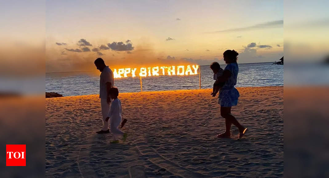 Bebo shares a glimpse of her fiery birthday