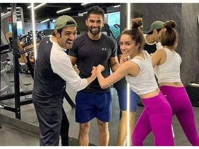 Shraddha & Kartik's throwback pic
