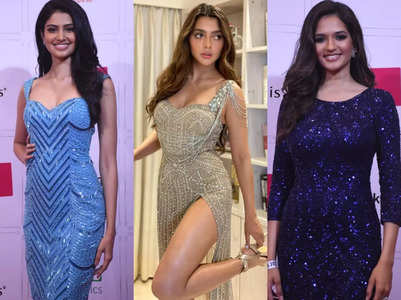 A blingy affair at Miss Diva 2021 red carpet