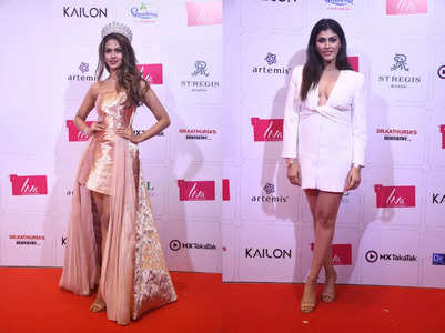Stylish guests at LIVA Miss Diva 2021 red carpet