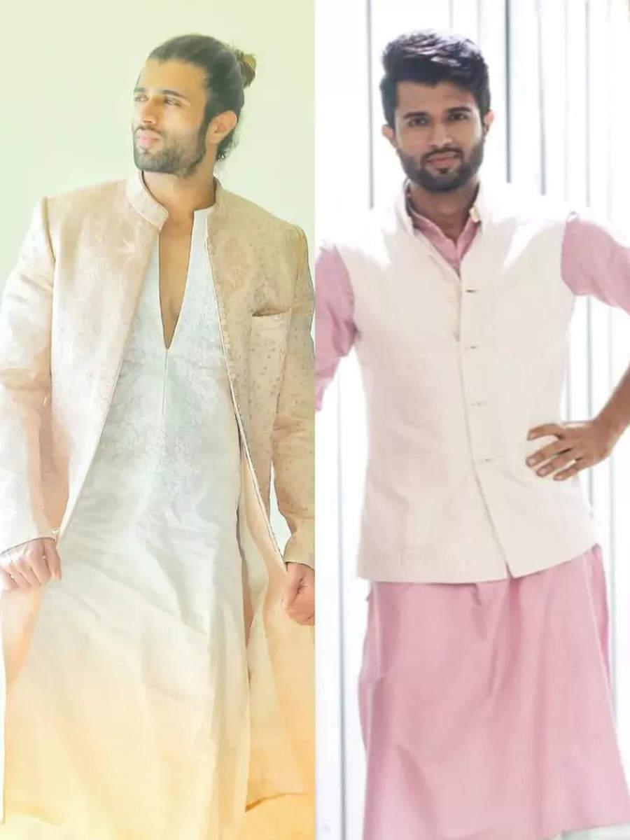 Vijay is irresistible in Indianwear
