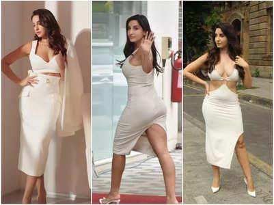 5 times Nora's white wardrobe made heads turn