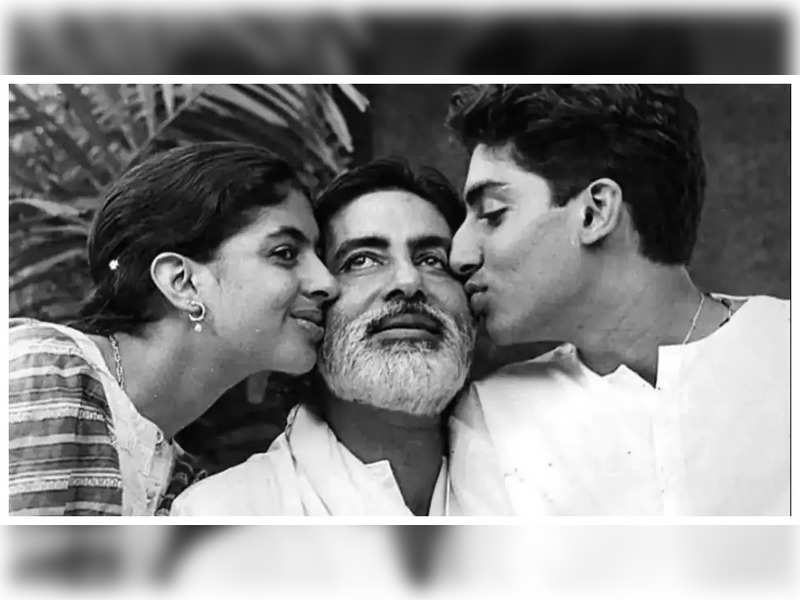Amitabh Bachchan reveals he regrets not being around more when Abhishek and Shweta Bachchan were growing up