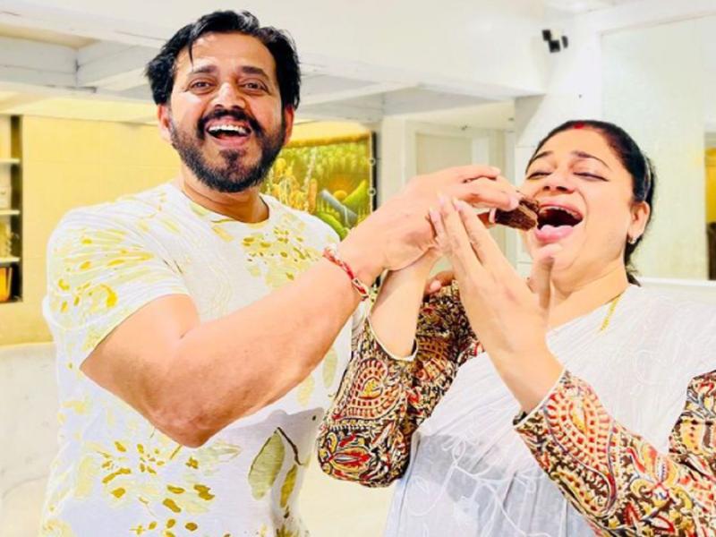 Ravi Kishan pens a heartfelt note for his wife Priti on her birthday
