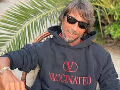 This 'Vaccinated' hoodie costs INR 50,000