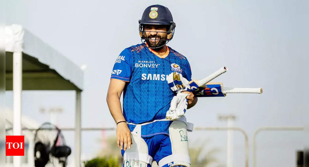 Rohit Sharma: It's important that we turn up and do the job, says Mumbai Indians skipper Rohit Sharma | Cricket News – Times of India