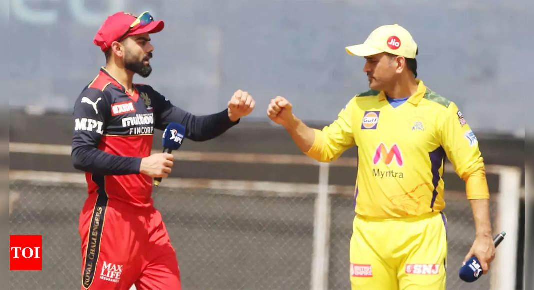 IPL 2021: Royal Challengers Bangalore seek return to winning ways against resilient Chennai Super Kings | Cricket News – Times of India