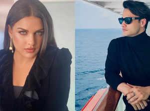 Asim Riaz, Himanshi Khurana cruise together